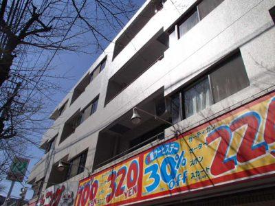 外壁調査・改修 施工例 – RC4階建外装改修 施工例(赤外線)