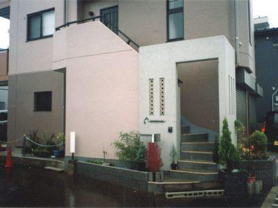 鉄筋コンクリート造 施工例 – 茅ヶ崎 RC 三階建