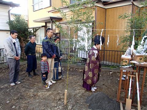 木造 施工例 - 横浜市H邸 木造二階建