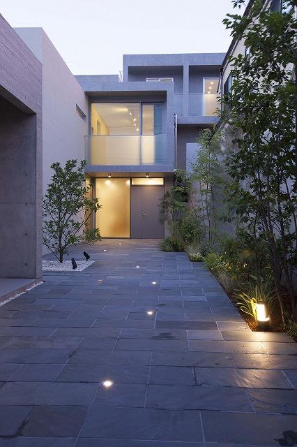 鉄筋コンクリート造 施工例 - 東京 RC 地下一階 地上二階