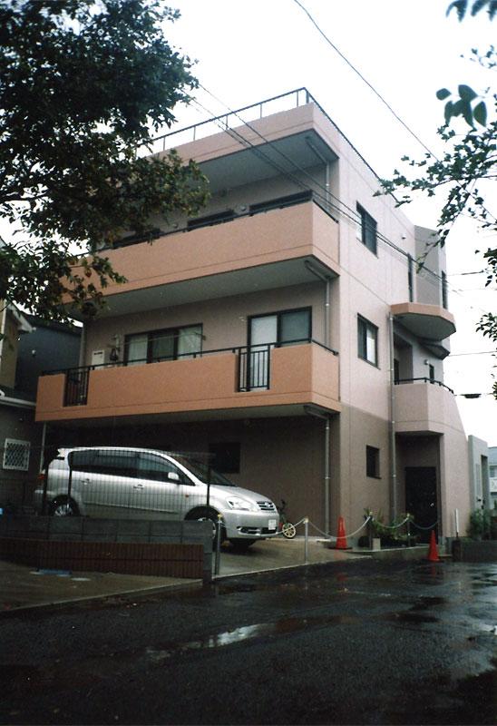 鉄筋コンクリート造 施工例 - 茅ヶ崎 RC 三階建