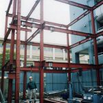 鉄骨造 施工例 - 横浜 店舗兼住宅 鉄骨造 三階建