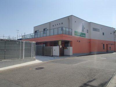 鉄骨造 施工例 – 横浜 太陽の子鶴ヶ峰保育園新築工事