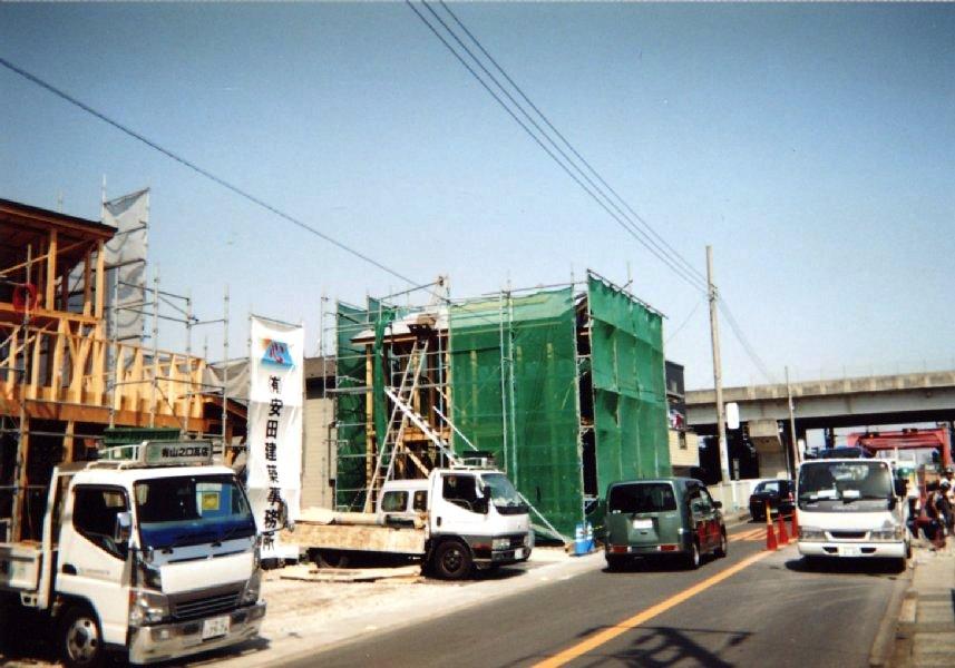 木造 施工例 - 茅ヶ崎 病院+薬局 木造 二階建