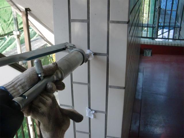 外壁調査・改修 施工例 - RC4階建外装改修 施工例(赤外線)