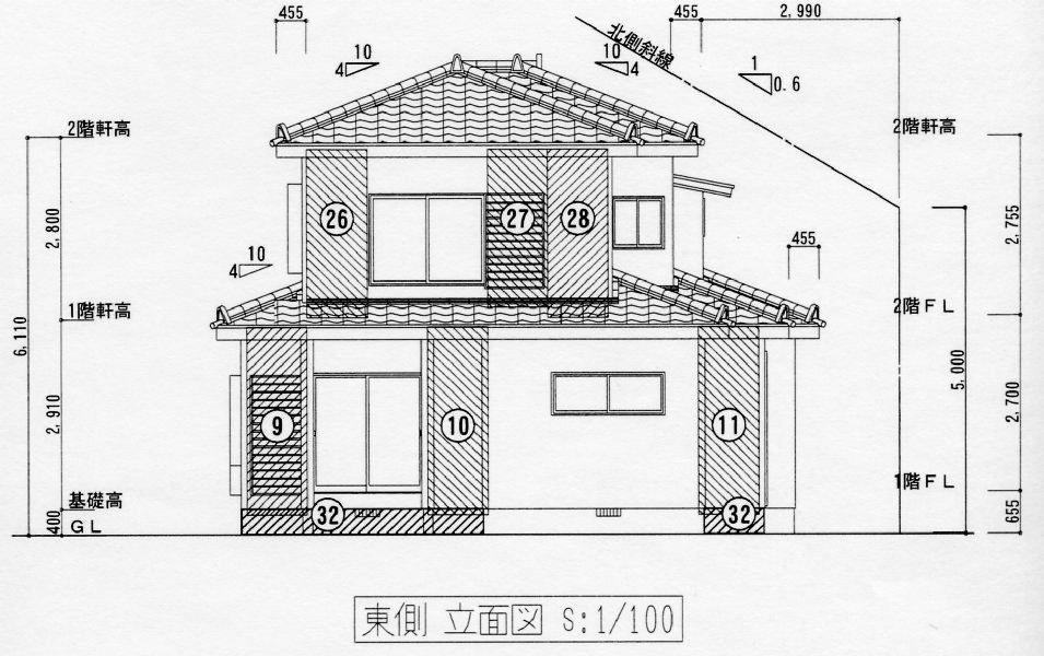 耐震工事/耐震工事 設計例