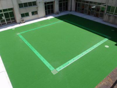 小学校中庭改修工事(横浜市)