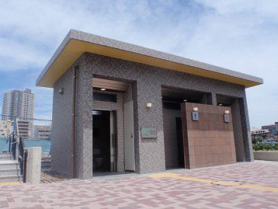 鉄筋コンクリート造 施工例 – 横浜 公衆トイレ新築工事