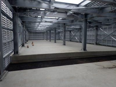横浜市中央卸売市場食肉市場電力供給設備改修工事(建築工事)